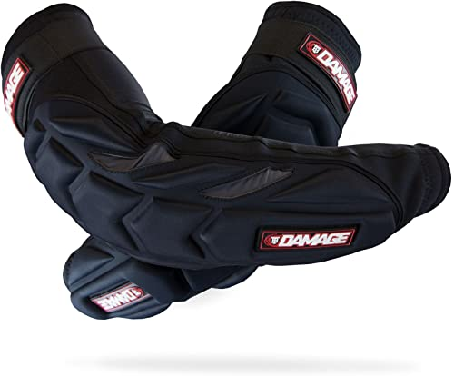 Damage Tampa Bay Elbow Pads w/Forearm Protection - Black - XX-Large