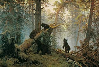 The Museum Outlet - Shishkin, Ivan – Morning in a Pine Forest, Toile tendue galerie 40,6 x 50,8 cm
