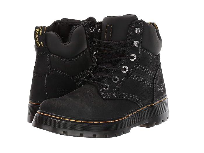 Dr. Martens Work  Gabion (Black Pit Quarter/Black Soft PU/Black Extra Tough Nylon) Mens Boots
