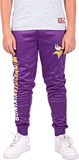 Ultra Game NFL Boy's Active Jogger Fleece Sweatpants