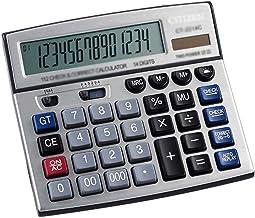 $49 » HDCDKKOU Multi-Function 14-Digit Battery Dual Powered Handheld Electronic Business Mini Desktop Financial Scientific Offic...