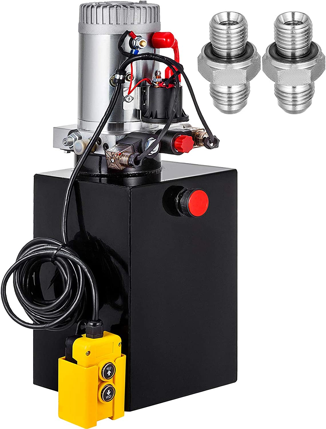 VEVOR Hydraulic Power Unit Be super welcome 12 Quart Double Pump Indianapolis Mall Acting