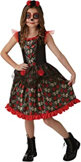 Rubies Red Rose Day Of The Dead Child Costume (640059)
