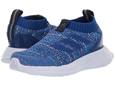 adidas Kids RapidaRun LL Knit (Toddler) (Blue/Royal/Navy) Kids Shoes