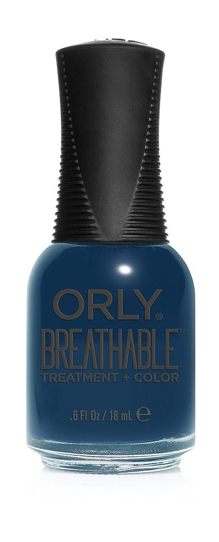 口実車両起きろOrly Breathable Treatment + Color Nail Lacquer - Good Karma - 0.6oz / 18ml