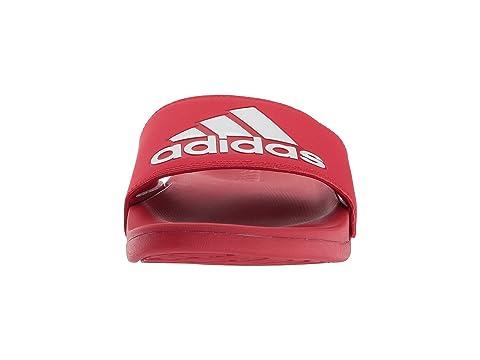 Blanco Adilette Scarlet CF Logo Adidas nZIBp8xzB