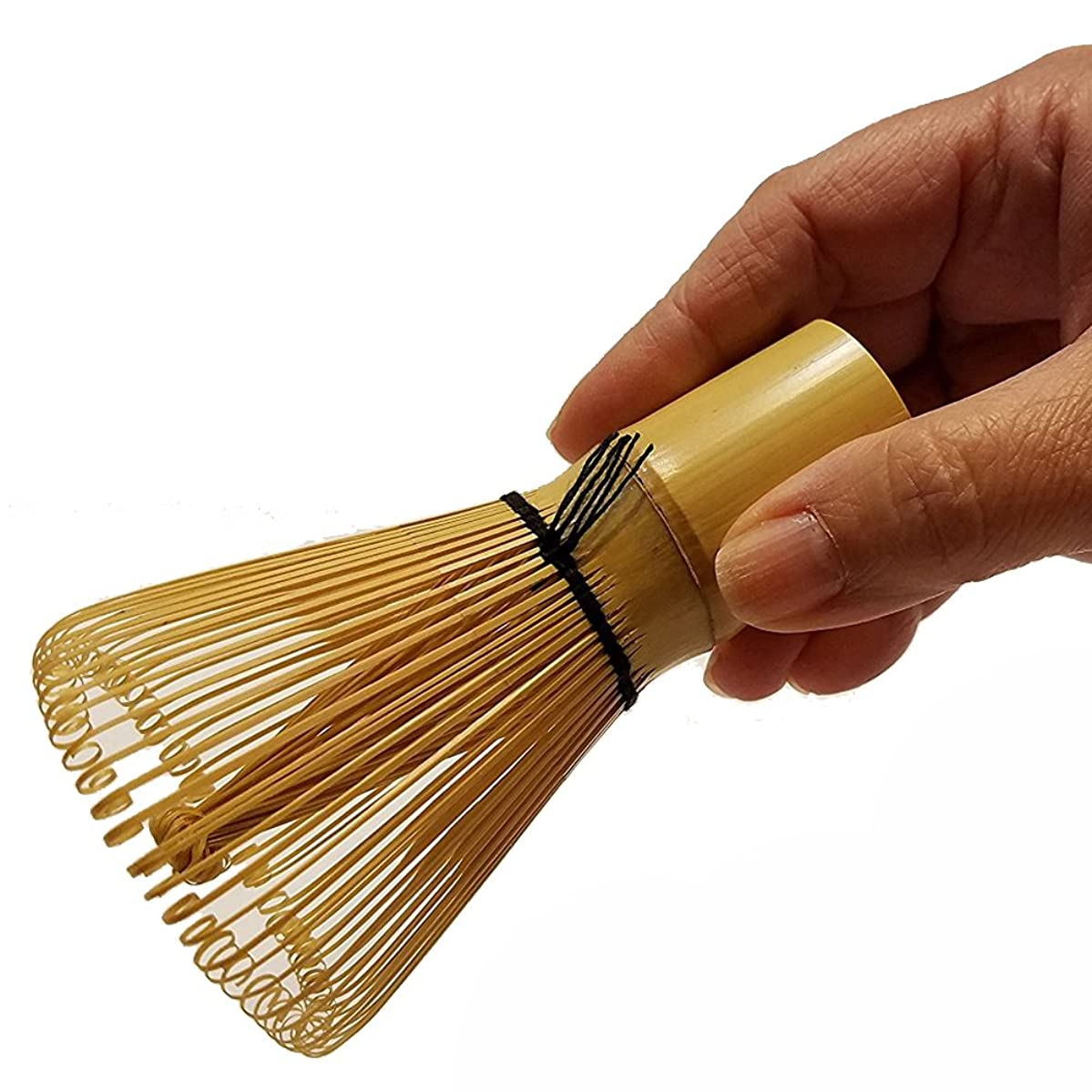 Matcha whisk made in japan traditional bamboo brush chasen tea mixer for preparing intricate foam to matcha tea