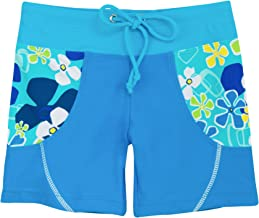 Tuga Girls Swim Shorts 1-14 Years, UPF 50+ Sun Protection Board Short