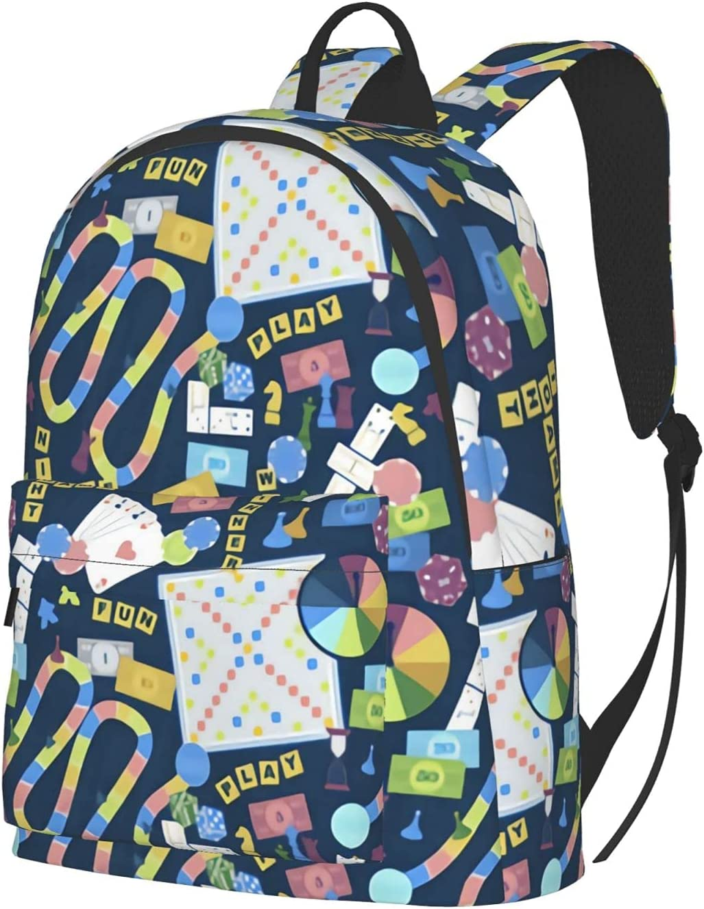 Game Night - 10 in Travel Extra Unisex Limited time cheap sale Max 72% OFF Backpack Laptop