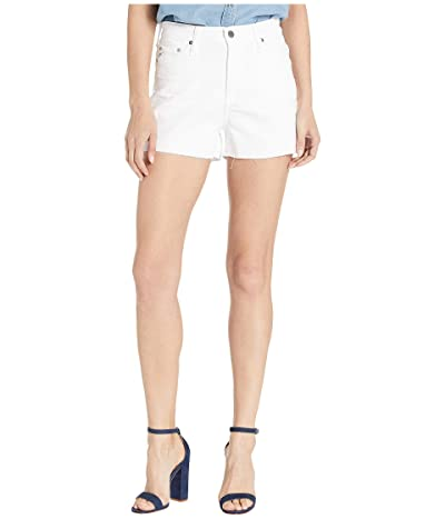AG Adriano Goldschmied Mikkel Shorts in 1 Year Optic White (1 Year Optic White) Women