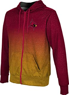 St. John Fisher College Boys' Zipper Hoodie, School Spirit Sweatshirt (Ombre)