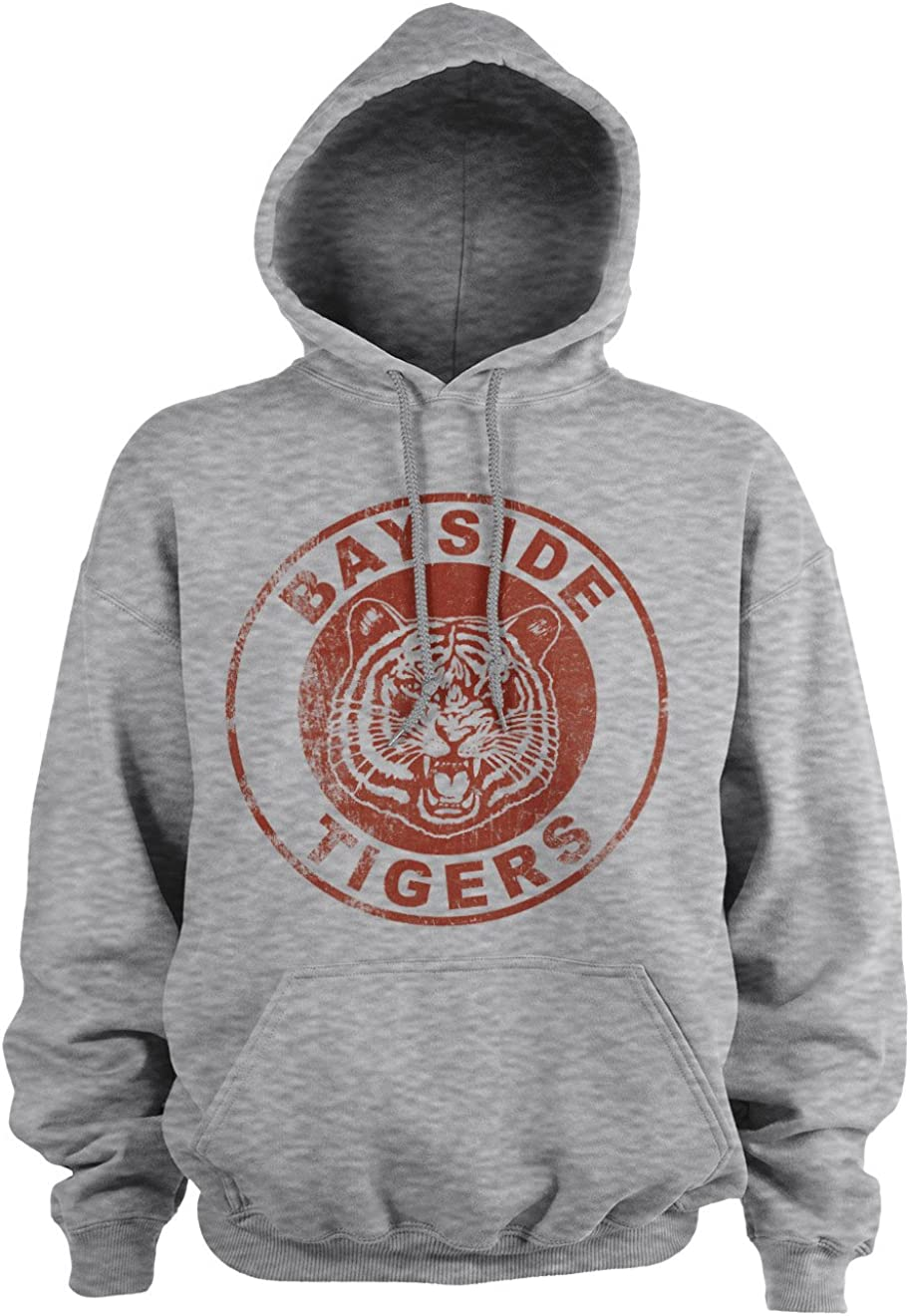 Officially Licensed Bayside Tigers Washed Logo Hoodie
