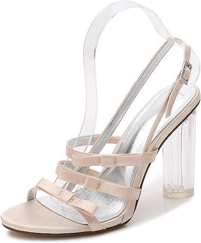 Elegant high zapatos zapatos de Boda para mujer F2615-3 plataforma de Cristal Tacones de Fiesta blanco Marfil