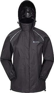 Mountain Warehouse Pakka Womens Jacket – Waterproof Rain Coat