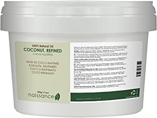 Naissance Refined Coconut Oil 500g 100% Pure & Natural