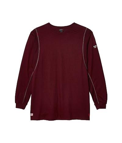 Ariat FR AC Crew T-Shirt (Malbec) Men