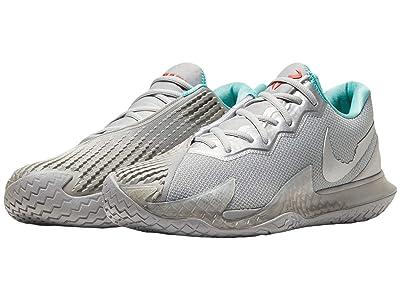 Nike NikeCourt Air Zoom Vapor Cage 4 (Metallic Silver/Metallic Silver) Men