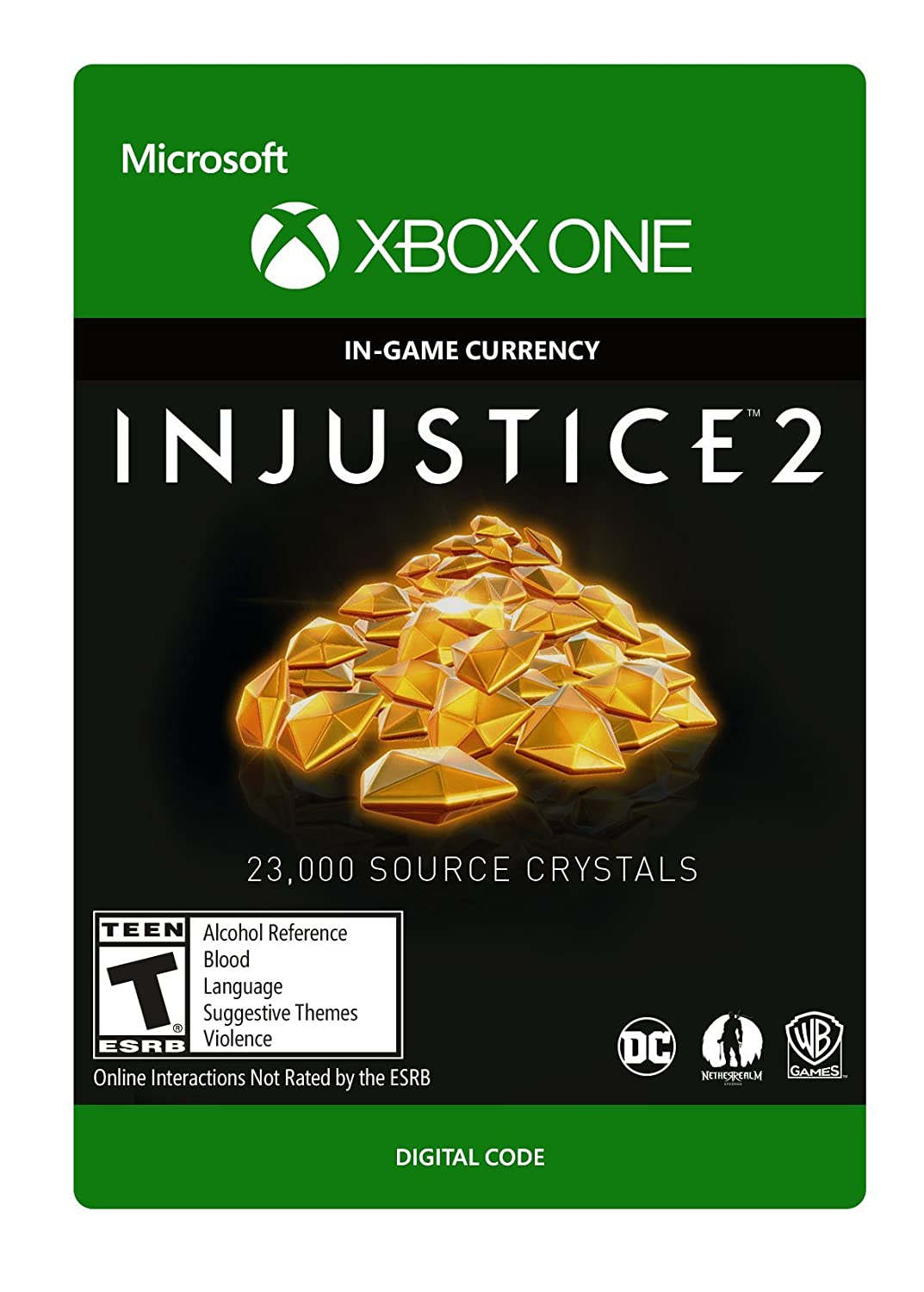 Injustice 2: 23 Recommendation 000 Source Crystals Xbox One Some reservation Digital Code -