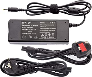 KYTD 90W Adapter Laptop Charger Notebook Supply Power source for Acer Aspire Output  19V 4 74A 90W Power Cord  75W 65W Compatible  Connector  5 5 1 7mm