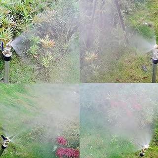 Baoblaze Boquilla de Latón Amplia Zona de Fumigación con Pesticidas Accesorios de Jardín DN15 - Boquilla 1-Cabeza