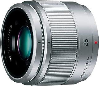 パナソニック 単焦点レンズ マイクロフォーサーズ用 ルミックス G 25mm/ F1.7 ASPH. シルバー H-H025-S