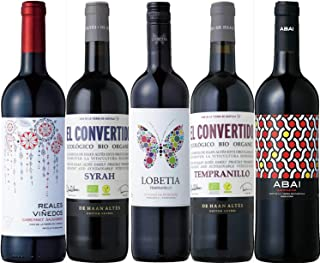【酒のダイナミック】 厳選 金賞受賞ワイン入り スペイン赤ワイン 5本セット
