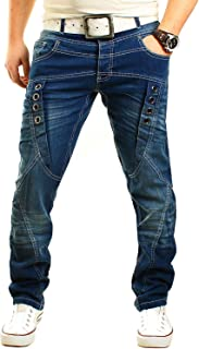 Früchtl Designer Jeans Trousers for Men Slim Fit Stretch Men's Jeans
