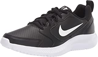 Nike Women's WMNS Todos Black/White Leather Running Shoes-5 UK (38.5 EU) (7.5 US) (BQ3201-001)