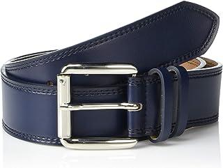 STACY ADAMS Men's Dylan 40mm Burnished Leather Belt