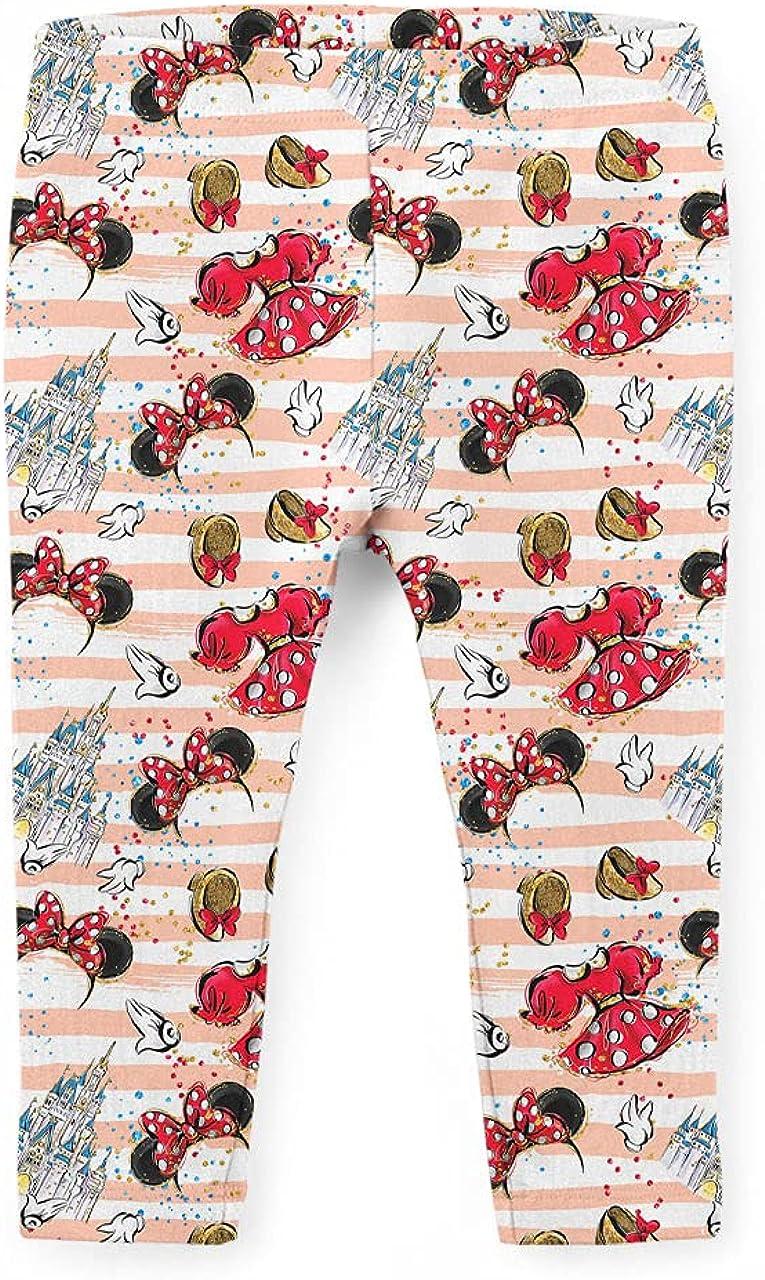 Girls' Capri Leggings - Minnie Best Day Ever