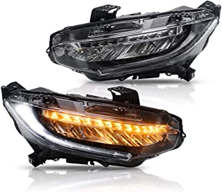 Best 2017 civic si led headlights Reviews