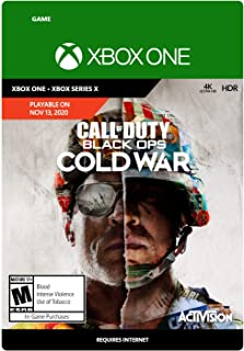 Call of Duty: Black Ops Cold War Standard Edition - PRE-PURCHASE - Xbox One [Digital Code]