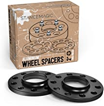 2pcs 12mm (0.5 inch) 5x114.3 Hubcentric Wheel Spacers with 12x1.5 Studs for Toyota Avalon Camry Supra MR2 Scion Tc xB Lexus ES300 ES330 ES350 IS250 IS300 IS350 GS300 GS350 (60.1mm bore)