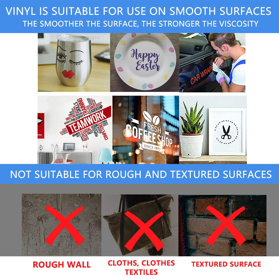 21Pack Permanent Self Adhesive Vinyl Sheets 12 x 12 inchs,21Assorted Color Sheets for Home Decor, Logo, Letters, Banners, Window Graphics.
