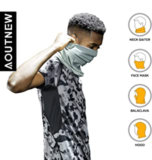 Neck Gaiter Fishing Mask Headwear Headwrap Magic Scarf with Sun Wind Dust Protection for Men Women Cycling Fishing Motorcycling Running Skateboarding & Other Outdoor Sports