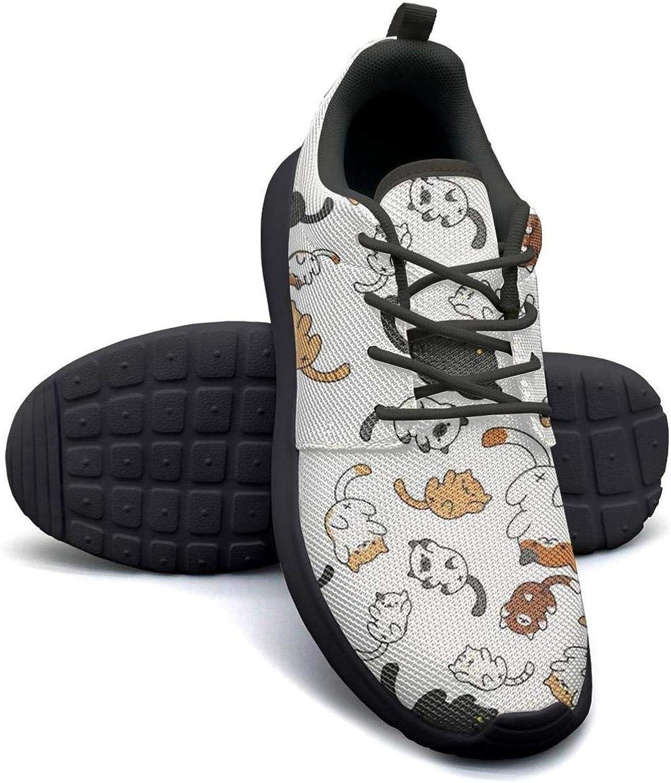 YSLC Fox Deer Wild Boar Cat Bear Rabbit Hare White color Running shoes Lightweight for Women Sneaker Outdoor Comfort shoes
