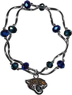 NFL Womens Crystal Bead Bracelet