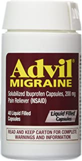 ADVIL MIGRAINE LIQUI-GELS (40 Capsule)