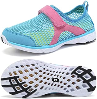 DESTURE Kid Water Shoes Girl & Boys Lightweight Quick Dry Sport Aqua Shoe Outdoor Athletic Sneakers