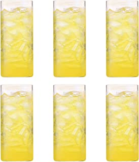 Borosil VISION ELEGANCE FLUTE GLASS SET 270 ML SET OF 6, clear, BVVIBVEF270
