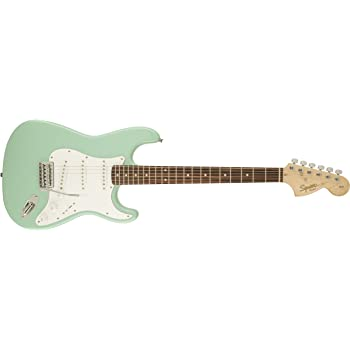 Squier Affinity Series Stratocaster IL Guitar - Surf Green