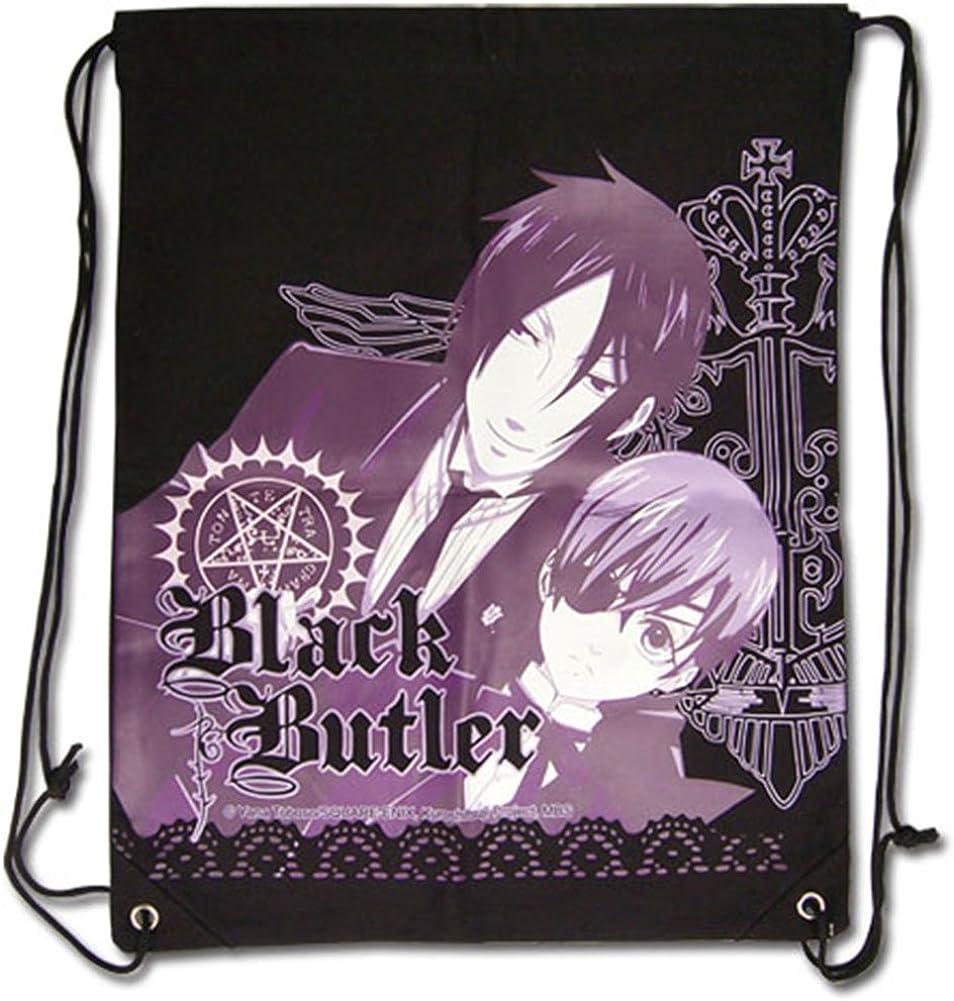 Black Butler Sebastian Bag Department free shipping store Drawstring Ciel