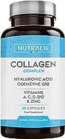 Collagène + Acide Hyaluronique + Coenzyme Q10 + Vitamines A, C, D et B12 + Zinc   Pour les Articulations et la Peau  ...