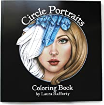 Circle Portraits Coloring Book Signed First Edition