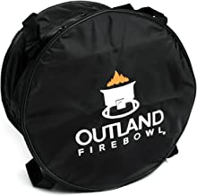 Outland Living 762 UV and Weather Resistant Cypress Fire Pit Carry Bag, Fits 21-Inch Diameter Outdoor Propane Gas, Black