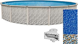 Lake Effect Meadows Reprieve 12' Round Above Ground Swimming Pool | 52