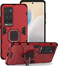ZMONE for VIVO X60 Pro Plus 5G/ X60 Pro+ 5G Case Hybrid Heavy Duty Dual Layer Shockproof Protective Case Cover with Magnet...