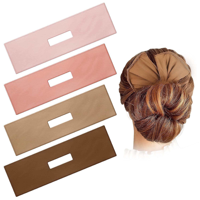 4 Pieces Hair Bun Maker Deft San mart Jose Mall Cloth