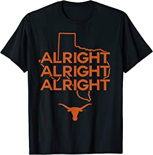Texas Longhorns Alright State Map T-Shirt