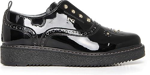Nero giardini scarpe teens ragazza in pelle A732650F 100